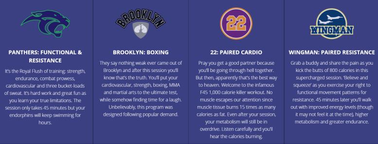f45 workout 2